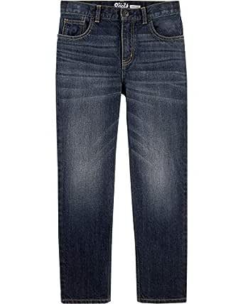 OshKosh B'Gosh Boys Straight Jeans Jeans - Blue - 4 Regular