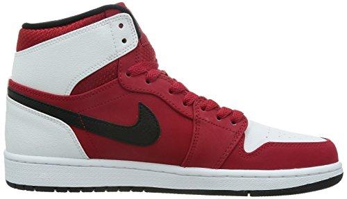 para Negro de Rojo Blanco Black Retro Gym High Hombre Zapatillas Nike Red Air Deporte 1 white Jordan q1RRFC
