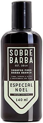 Sobrebarba Shampoo para Barba Branca Especial Noel 140ml