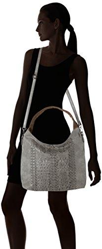 Sansibar Pouch - Shoppers y bolsos de hombro Mujer Gris (Asphalt)
