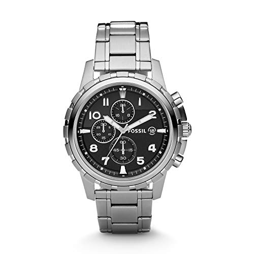 Men's Dean Stainless Steel Chronograph Watch (Style: FS4542)