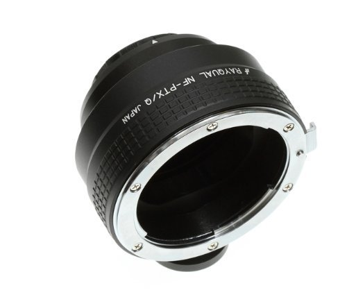 Kindai(Rayqual) Mount Adapter for Pentax Q body to Nikon F Lens Japan made