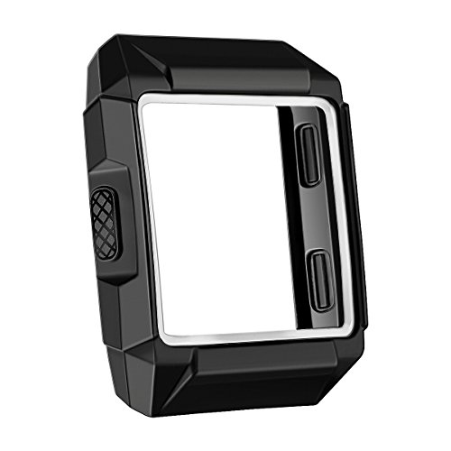 bayite For Fitbit Ionic Case, TPU Rugged Protector Cover Protective Frame Shock Resistant Shell for Fitbit Ionic Smart Watch