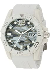 Haurex Italy Men's C1354UCC Caimano Camouflage Dial Stone Rubber Watch
