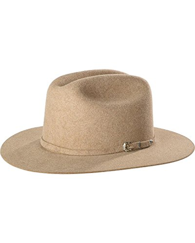 Justin Men's Natural 15X Newman Cowboy Hat Natural 7 1/8