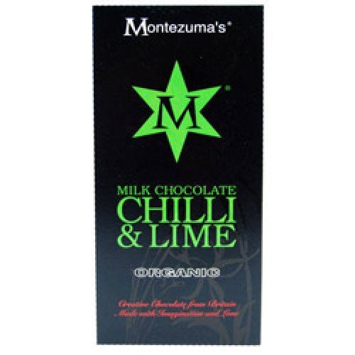 Chocolate Lime Milk (Montezumas Chocolate Org Milk Lime & Chilli Bar 100G by Montezumas Chocolate)