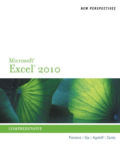 New Perspectives on Microsoft Excel 2010: Comprehensive (Advanced Spreadsheet Applications) Pdf