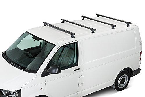 2007 Heavy Duty Barras de Techo de Acero 35/x 35/en di/ámetro 3/Bar Sistema Cruz Peugeot Expert L2H1/ II