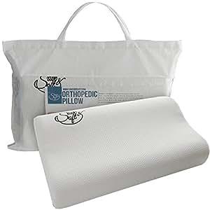 Orthopedic Memory Foam Pillow Comfortable Hypoallergenic