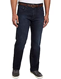 Men's Relaxed Fit Straight Leg Jeans