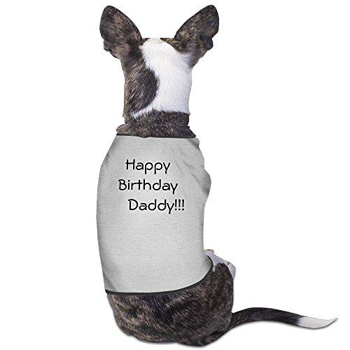 [YRROWN Happy Birthday Daddy Dog Shirt] (Funny Award Ideas)