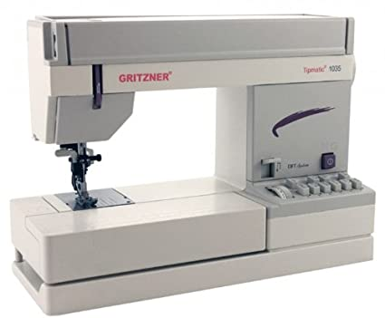 Gritzner 1035-DFT Tipmatic - Máquina de coser
