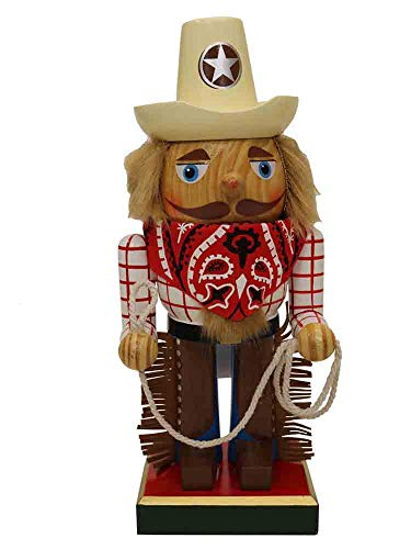 Nutcrackers Wooden Chubby Cowboy [95132] ()