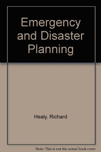 Emergency and Disaster Planning