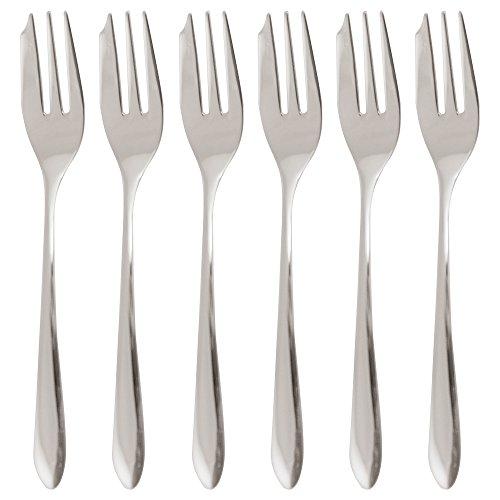 Set 6 Pcs Oyster/Cake Fork Dream S/Steel by Sambonet (Image #1)