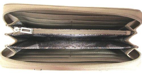 GUESS Corinna SLG Zip Around Clutch Wallet, Stone Multi