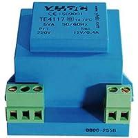 YHDC Transformador de Aislamiento TE4117 Entrada: 230V Salida:6V-24V