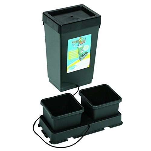 "4156OY6dPTL - LowPro 3 x 3 (39""x39""x37"") Grow Tent Kit Complete LED + AutoPot Hydroponics System & Nutrients Package"