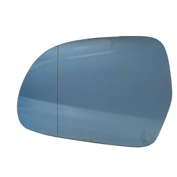 1 par de la derecha y la izquierda del conductor con el lado del acompañante Espejo retrovisor de cristal azul de Len C6 A4 B8 2009-2012: Amazon.es: Coche y ...
