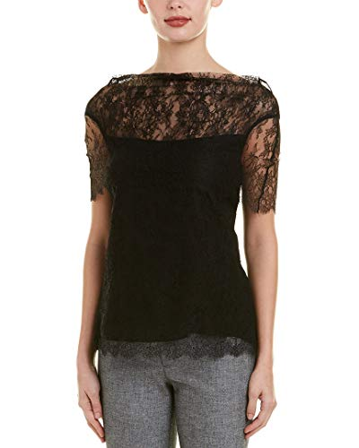 Escada Womens Top, 36, Black - Top Escada Shirt