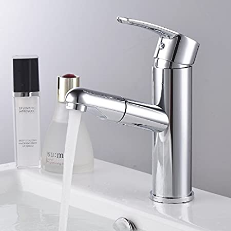 MDRW-Bathroom Basin Tap Cold And Hot Water Wash Basin Tap Valve Pull Rotary  Tap