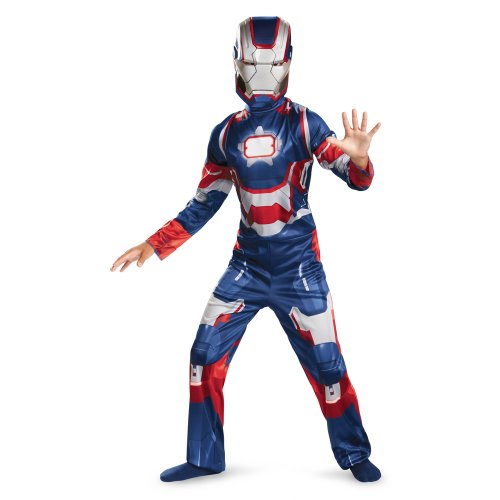 Marvel Iron Man 3 Patriot Boys Classic Costume, 10-12]()