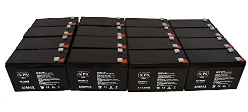 APC RBC57 (Replacement Battery) 12V 9Ah UPS Replacement Battery (16 Pack)