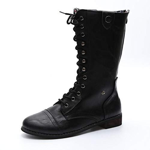 Herbst Martin Bowomen Tube Boots und Stiefel Front Stiefel Es Damenstiefel Mode OTS Winter Mit Großformat High KUKI Warmen FqOt8wdc8