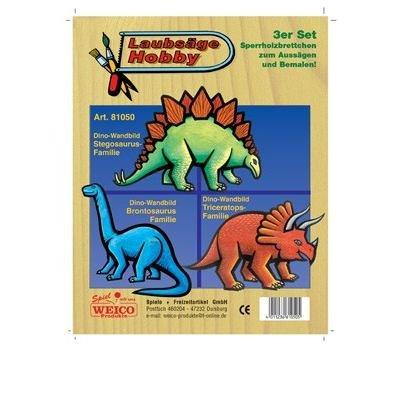 Laubsägevorlage - Weico Laubsäge Vorlage Dinosaurier