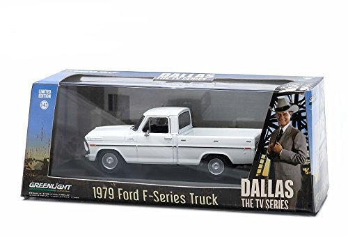 "1979 Ford F-Series F-100 Custom Pickup Truck ""Dallas"" TV Series (1978-91) 1/43 by Greenlight 86071"