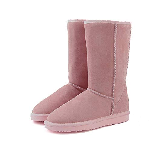 Snow Boots Women Top Australia Boots Winter Boots for Women Warm,8MUS,Light Pink