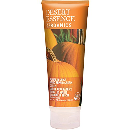 Desert Essence, Organics, Hand Repair Cream, Pumpkin Spice, 4 fl oz (118 ml)(pack of 3)