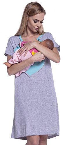 Happy Maternity Nursing Breastfeeding Nightdress product image