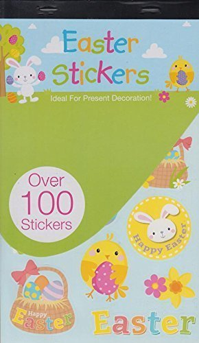 Easter sticker book over 100 cute easter stickers crafts cards gifts easter sticker book over 100 cute easter stickers crafts cards gifts decorate negle Choice Image