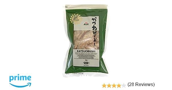 Katsuobushi (hojuelas de atún secas y ahumadas) 40 g: Amazon.es ...