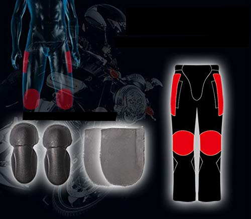 Ocamo Unisex Winter Waterproof Windproof Warm Style Motorcycle Riding Pants M by Ocamo (Image #3)