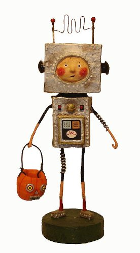 Lori Mitchell Halloween Figurines (Lori Mitchell Robby Robot)