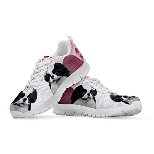 f2c2e815545 delicate Women's Sneakers - All Dog Print Women's Casual Running ...