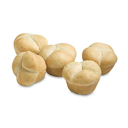 Signature Breads Pillsbury Par Baked Clover leaf Soft White Dinner Roll, 1.25 Ounce -- 150 per case. by Signature Breads