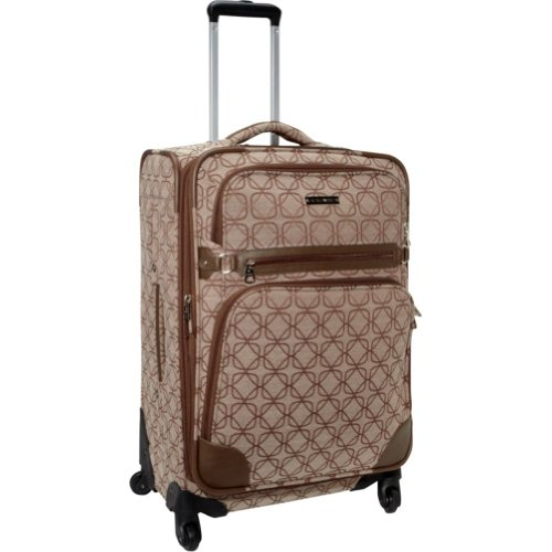 Ninewest Luggage 9 Element 24 Inch Upright Spinner, Brown/Tan, One Size, Bags Central