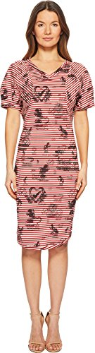 (Vivienne Westwood Women's Pier Point Stripe Dress Red Small)