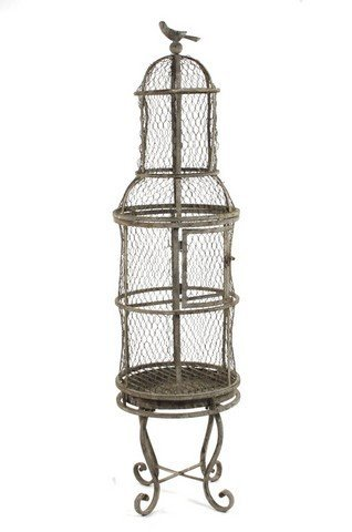 ZENTIQUE Metal Bird Cage