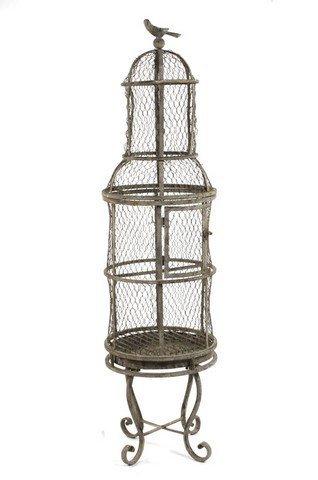 ZENTIQUE Metal Bird Cage