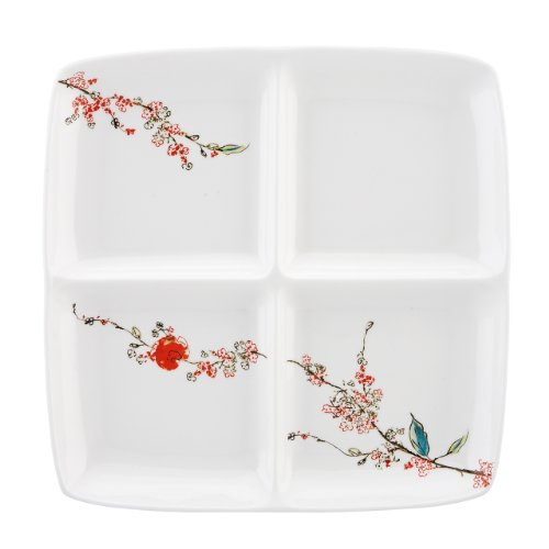 Lenox Simply Fine Chirp 4-Part Divided Serving Dish
