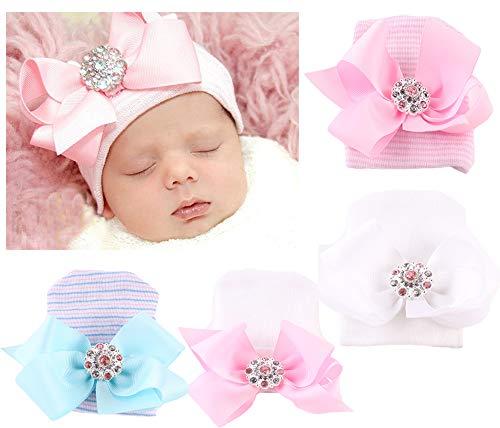 e93d219e09f Xinshi Newborn Hat Soft Turban Baby Girl Big Bow Knot Cap - Buy ...