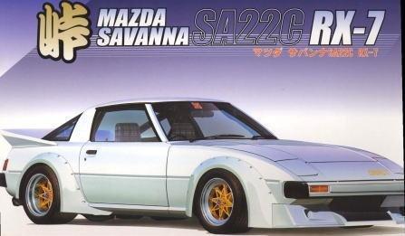 Fujimi TOHGE-34 Mazda Mazda Mazda RX-7 SA22C FC3S Drift King 1/24 Scale Kit e4b8b3