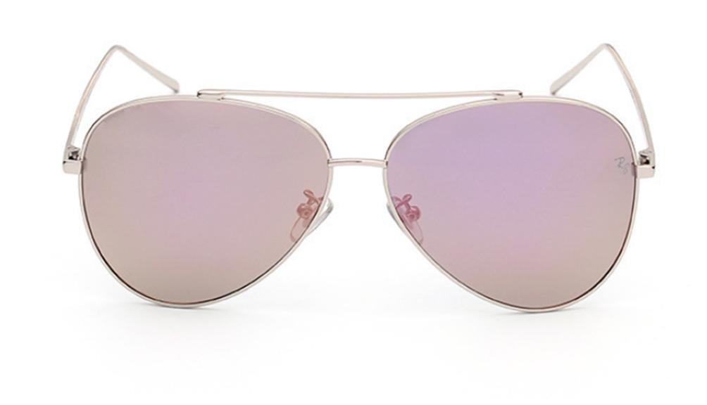 WW Metall Exquisite Jurte Spiegel Farbe Film Sonnenbrille Sonnenbrille , F,F