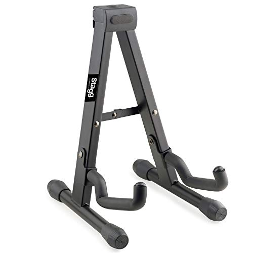 "Stagg SUVM-A100BK Foldable""A"" Stand for Ukuleles, Mandolins and Violins"