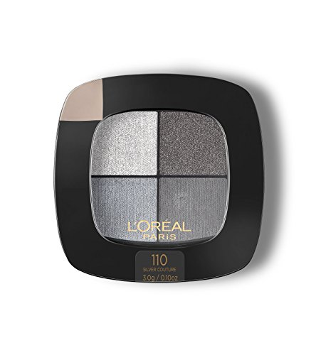 L'Oreal Colour Riche Eye Pocket Palette Eye Shadow, Silver Couture 0.1 oz (Best Eyeshadow For Gray Eyes)