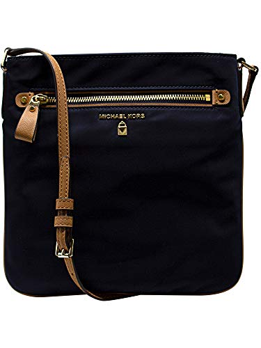 a81a7b5368fb Michael Kors Women s Large Kelsey Nylon Crossbody Cross Body Bag - Admiral